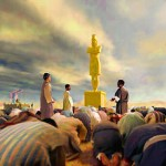 TWIGE IGITABO CA DANIYELI 3: 13-18 golden-statue-150x150